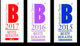 brand eins beste berater 2015-2017